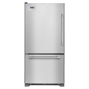 "Maytag 30"" Bottom Freezer Refrigerator with Freezer Drawer, 19 Cu. Feet"