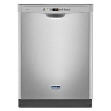 Maytag Front Control Dishwasher in Stainless Steel with Stainless Steel Tub