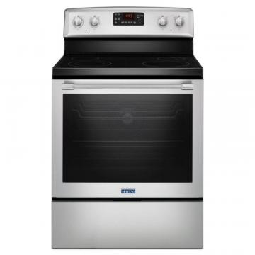 "Maytag 30"" Wide Electric Range with Fan Convection and Max Capacity Rack - 6.4 Cu. Feet"