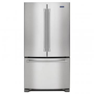 "Maytag 36"" Wide Counter Depth French Door Refrigerator - 20 Cu. Feet"