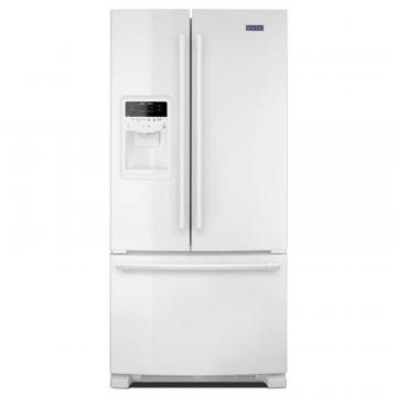 "Maytag 36"" Wide French Door Refrigerator with Beverage Chiller Compartment - 22 Cu. Feet,"