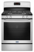 "Maytag 30"" Wide Gas Range with Fan Convection and Max Capacity Rack - 5.8 Cu. Feet"