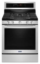 "Maytag 30"" Wide Gas Range With True Convection And Power Preheat - 5.8 Cu. Ft"