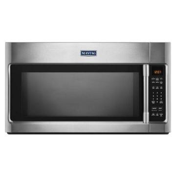 Maytag 2.0 cu. Feet Over-the-Range Microwave with Sensor Cooking & Stainless Steel Cavity