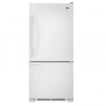 Amana 18 cu. ft. Refrigerator with Bottom Mount Freezer in White