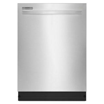 "Amana 24"" Tall Tub Dishwasher with Fully-Integrated Console and LED Display in Stainless Steel"