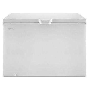 Amana 14.8 Cu. Ft. Compact Chest Freezer with Deepfreeze Technology in White