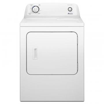 Amana 6.5 cu. ft. Electric Dryer with Automatic Dryness Control in White