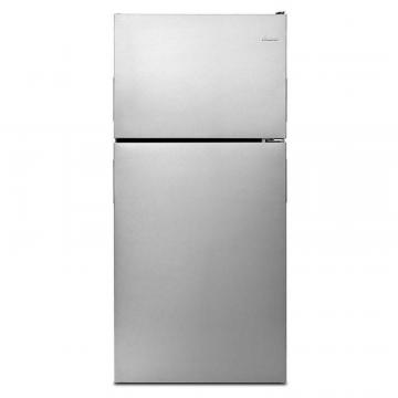 "Amana 30"" Wide Top-Freezer Refrigerator with Glass Shelves - 18 cu. Feet"