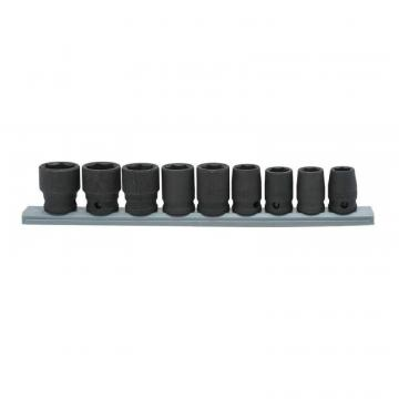 "Husky 9pc 3/8"" Drive Standard Metric Impact Socket Set"