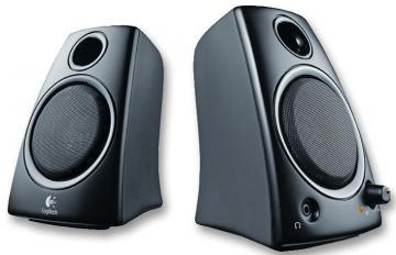 Logitech Z130 2.0 PC Speakers 5W Black