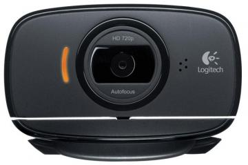 Logitech B525 HD Fold-n-Go Webcam for Business