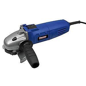 "Westward 7-Amp Trigger-Switch Angle Grinder with 4-1/2"" Wheel Dia."
