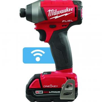 Milwaukee Tool M18 Fuel With One-Key 1/4 Inch Hex Impact Driver Kit
