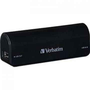 Verbatim Portable Power Pack 2600MAH Black