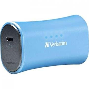 Verbatim 2200mAh Portable Power Pack Aqua Blue