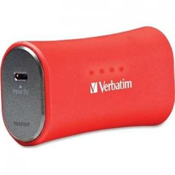 Verbatim 2200mAh Portable Power Pack Red