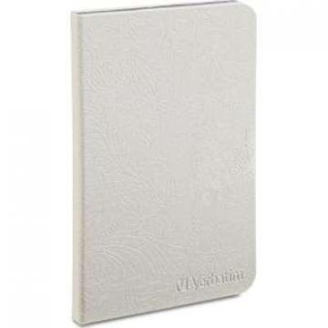 Verbatim Folio Case Slate Pearl White F/ 7 inch Pearl White Kindle Fire HD