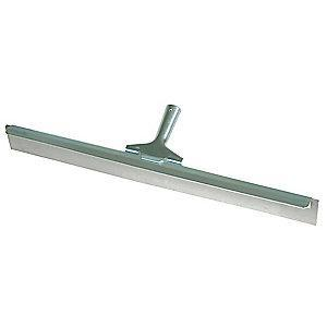 "Tough Guy 24""W Straight Nonmarking Rubber Floor Squeegee Without Handle, Gray"