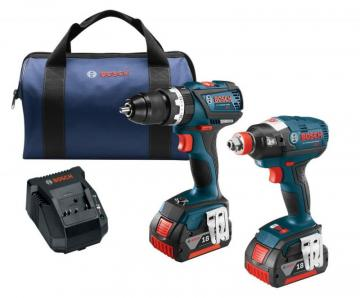 Bosch 18 V EC Brushless 2-Tool Combo Kit