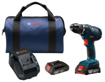 "Bosch 18V Compact Tough 1/2"" Drill/Driver Kit"