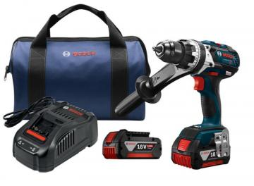 "Bosch 18 V EC Brushless Brute Tough 1/2"" Hammer Drill/Driver Kit"
