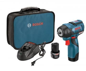 "Bosch 12V MAX EC Brushless 3/8"" Impact Wrench Kit"