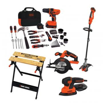 Black & Decker Garage 6-Piece Combo Kit