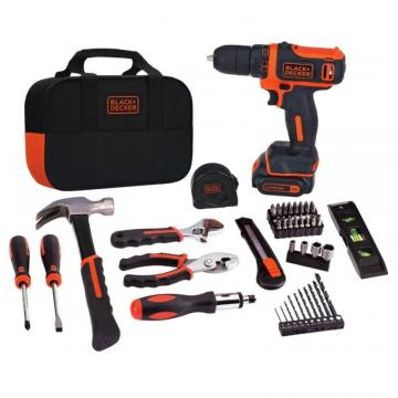 Black & Decker Drill Project Kit, 12V