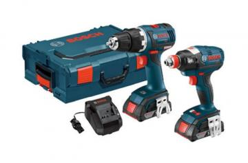 Bosch 18 V 2-Tool EC Brushless Combo Kit