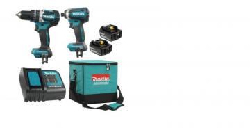 Makita 18V 5.0 Ah Brushless Lithium-ion Combo Kit
