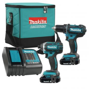 Makita 2-Piece Impact Driver and Driver Drill Combo Kit