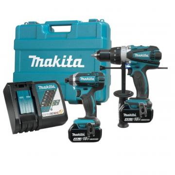 Makita 18V LXT Cordless Kit, 2-Piece Combo