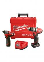 Milwaukee M12 FUEL Two-Piece Combo Kit