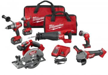 Milwaukee M18 FUEL Six-Piece Combo Kit