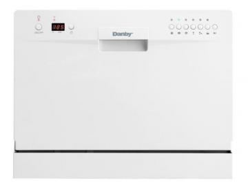 Danby 24-inch Countertop Dishwasher in White