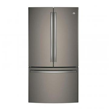 "GE 36"" 28.5 cu. ft. French Door Refrigerator in Slate"