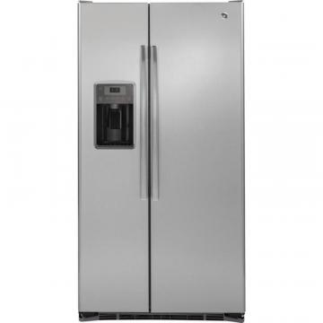 GE 21.9 cu. ft. Side-by-Side Refrigerator with Dispenser in Stainless Steel