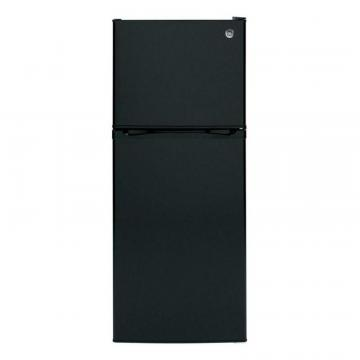 "GE 24"" 11.55 cu. ft. Top Freezer Refrigerator in Black"