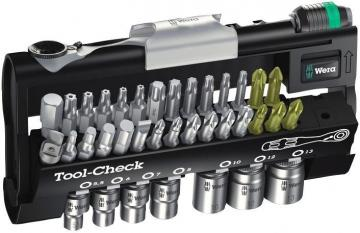 Wera Tool-Check 1 SB Ratchet, Bit & Socket Set 38 Pcs