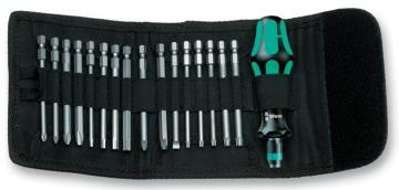 Wera Kraftform Compact Multifunction Screwdriver Ratchet & Bit Set - 17 Piece