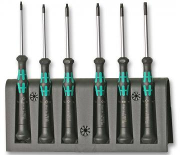 Wera Kraftform Micro Tamperproof Torx Screwdriver Set - 6 Piece