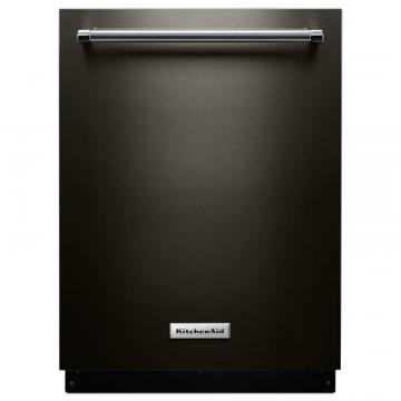 KitchenAid Black Stainless, 44 Dba Dishwasher With Clean Water Wash System