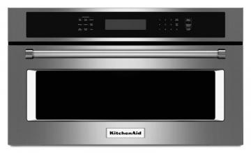 KitchenAid 1.4 cu. ft. Built-In Microwave Oven with Convection Cooking in Stainless Steel