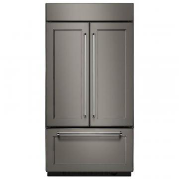 KitchenAid 20.8 cu. ft. Built In French Door Refrigerator in Panel-Ready Design