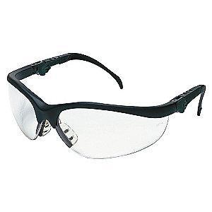 MCR Safety Klondike Plus Anti-Fog, Scratch-Resistant Safety Glasses, Clear Lens Color