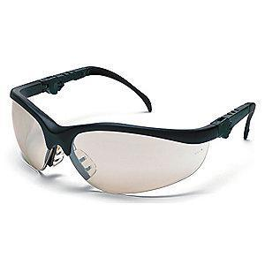 MCR Safety Klondike Plus Anti-Fog, Scratch-Resistant Safety Glasses, Indoor/Outdoor Lens Color