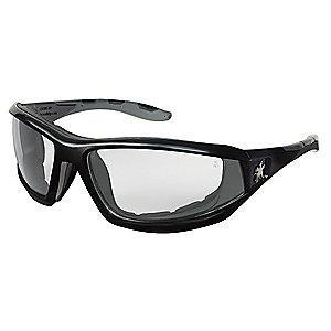 MCR Safety REAPER  Anti-Fog, Scratch-Resistant Safety Glasses, Clear Lens Color