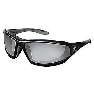MCR Safety REAPER  Anti-Fog, Scratch-Resistant Safety Glasses, Indoor/Outdoor Mirror Lens Color