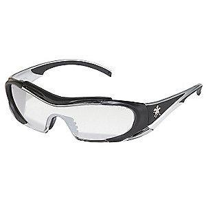MCR Safety Hellion Anti-Fog, Scratch-Resistant Safety Glasses, Indoor/Outdoor Lens Color